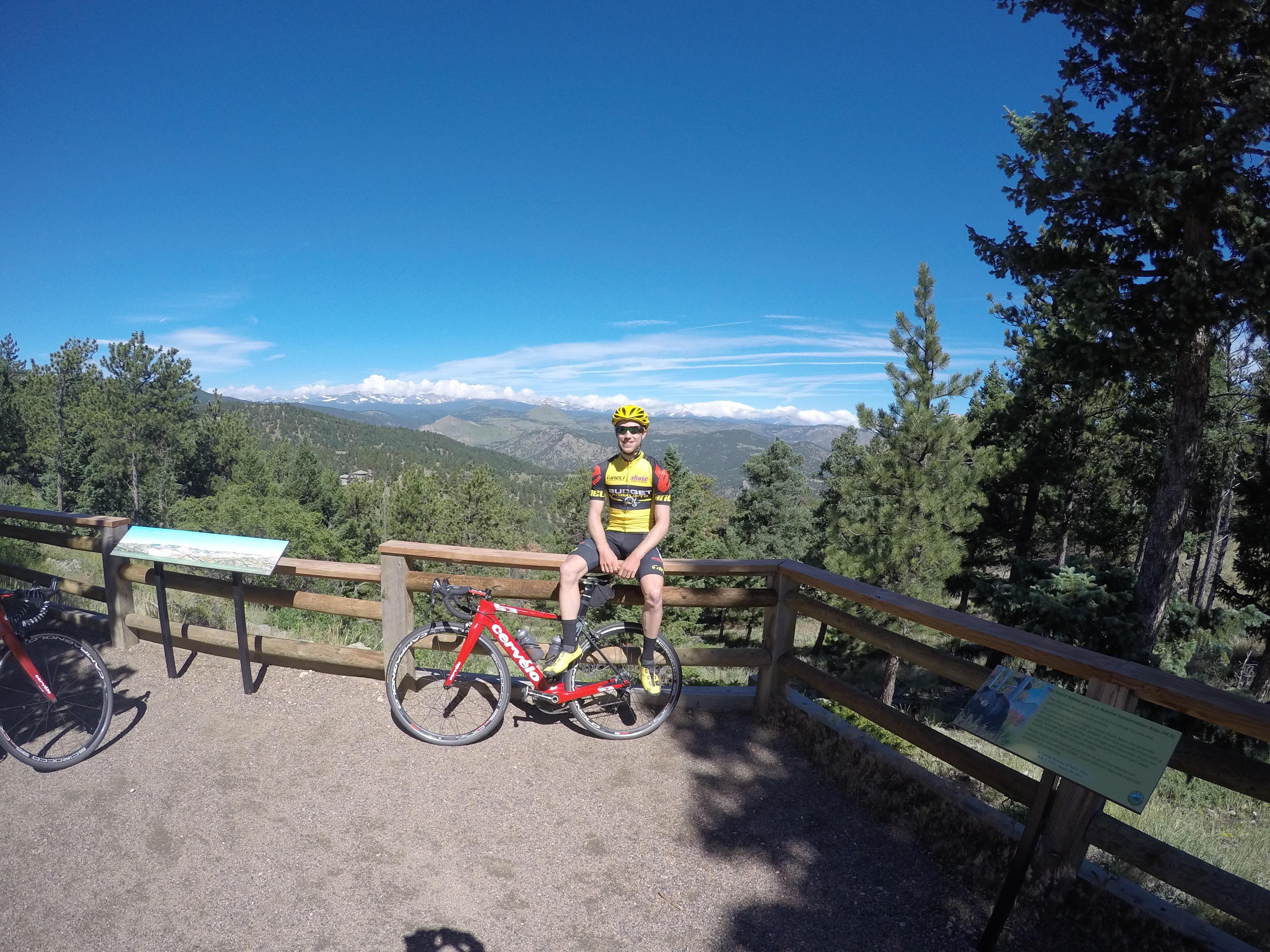 Near the summit of Flagstaff