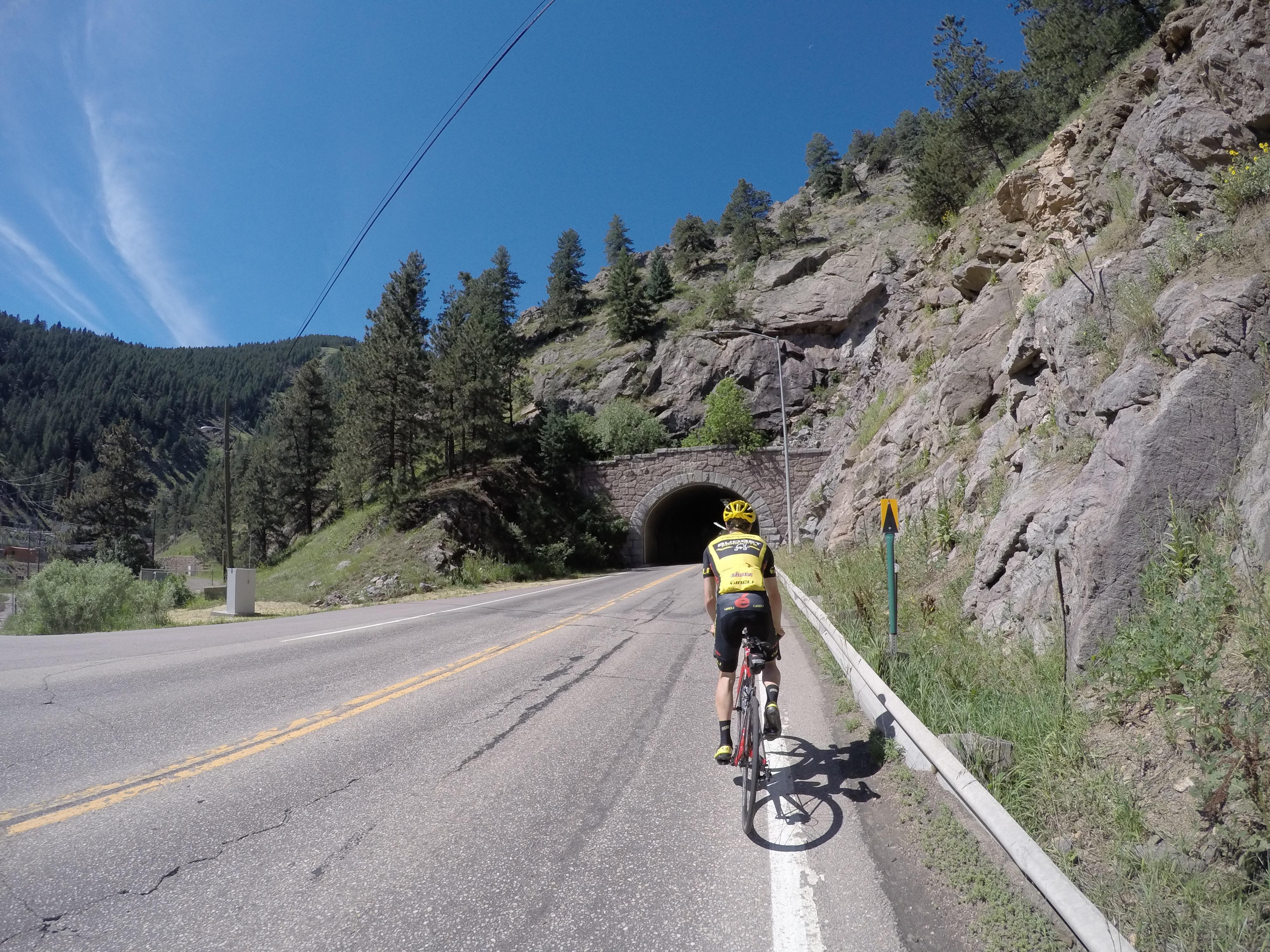 Climbing Boulder Creek Canyon to reach Magnolia