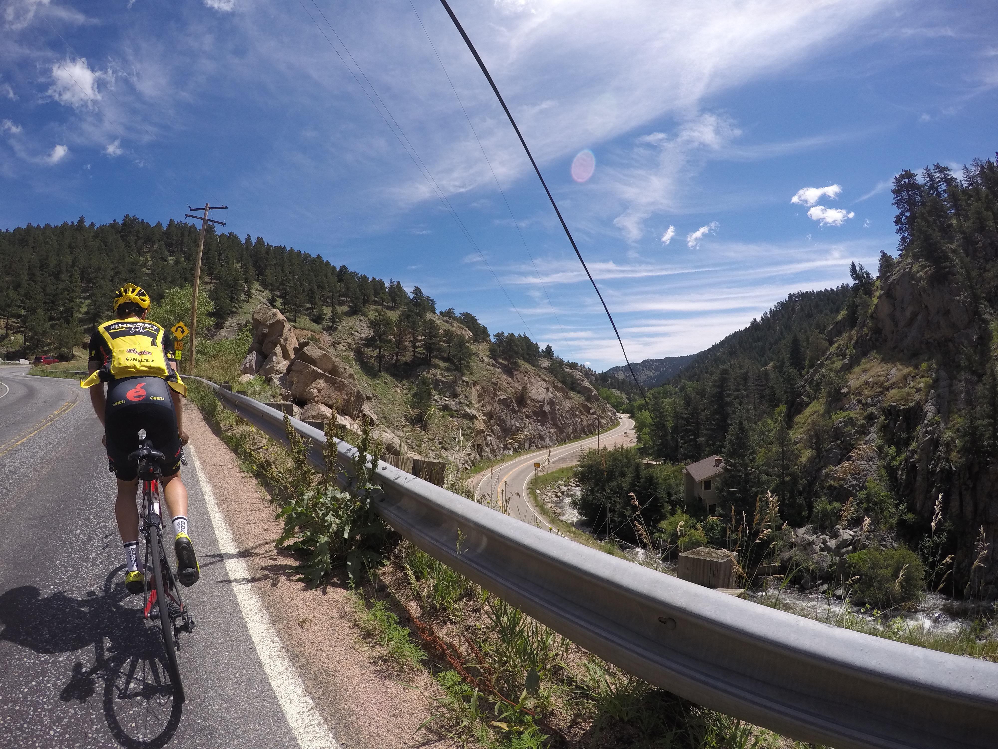 More views down to Boulder Creek Canyon