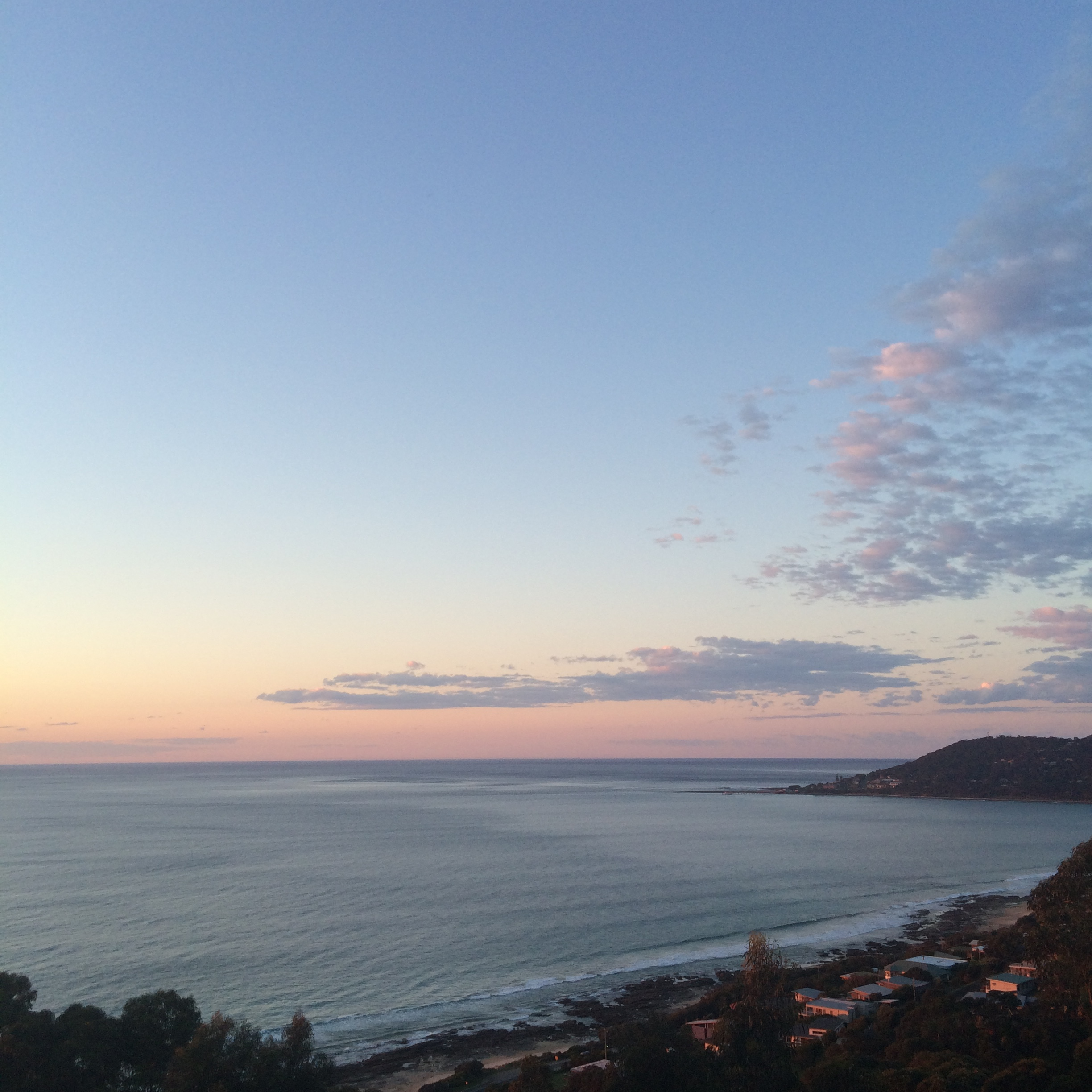 View over Lorne